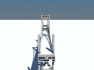 3d bridge landmarks model