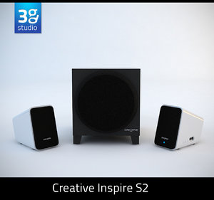 3d creative inspire s2 speaker