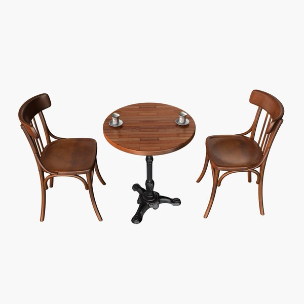 cafe chair table max