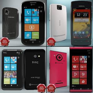 cellphones v11 3d model