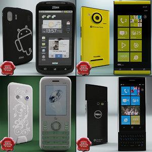 3d model cellphones v12 phone