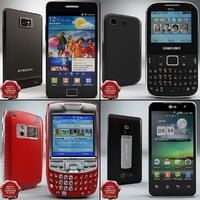 cellphones v17 3d max