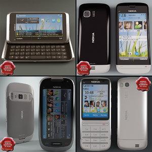 cellphones 36 3d model
