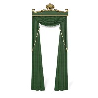 3d curtains classic model