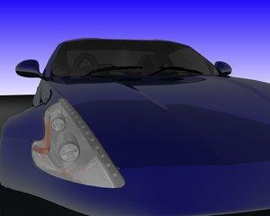 3d model nissan 370 370z
