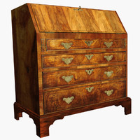 george desk 3d model