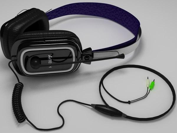 a4tech headphone 3d model