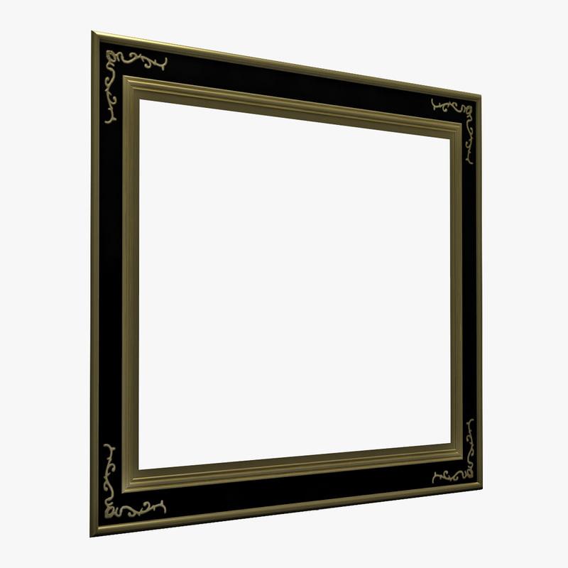 picture frame v7 3d model