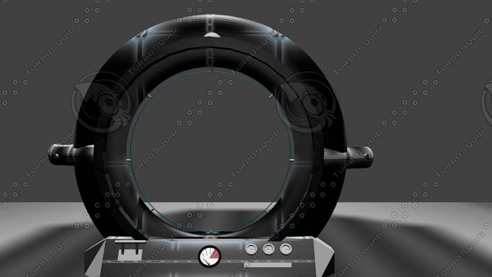 blend portal teleporter