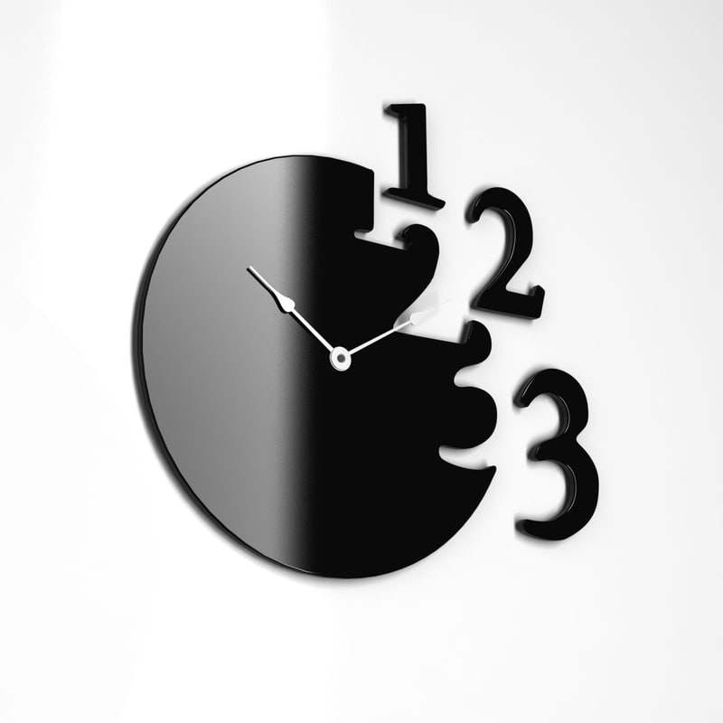 3ds max modern wall clock