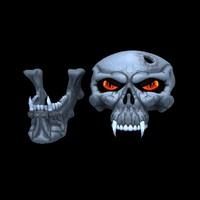 skull obj