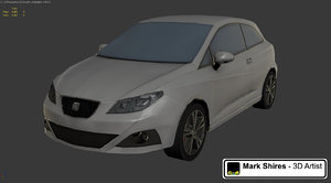 3d model real time seat ibiza