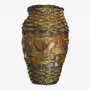 3d woven flower pot