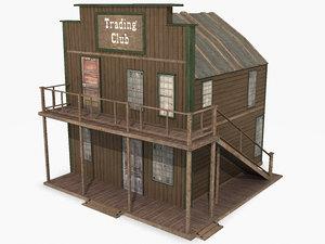 3d western trading club model