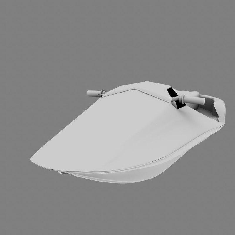 3d model power watercraft