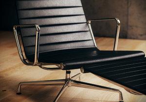 3d vitra aluminium chair model