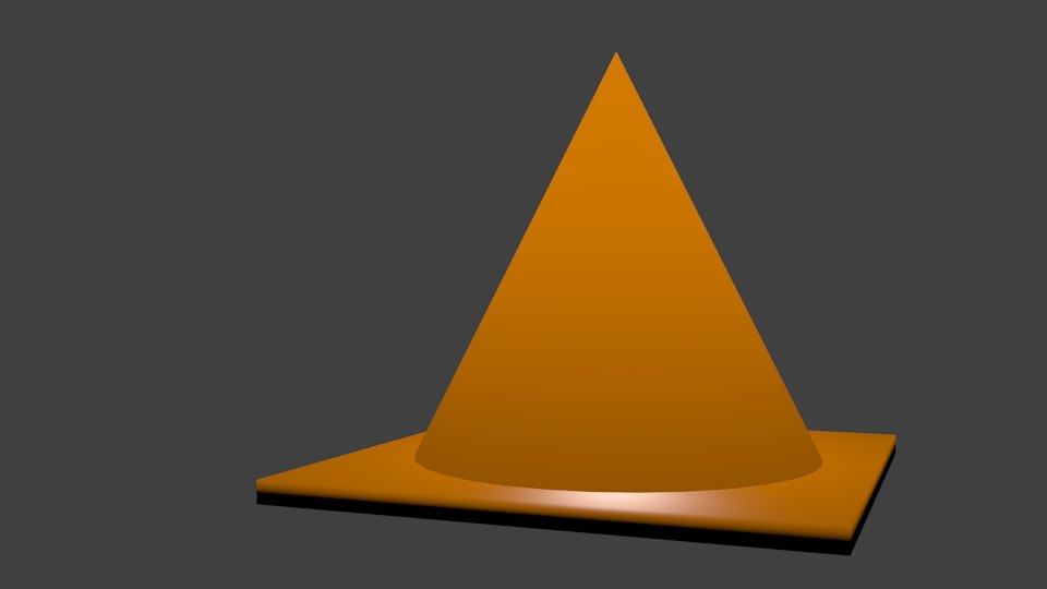 free conus 3d model