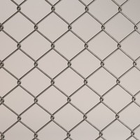 3d 3ds fence chain link