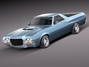 ford ranchero 3D models