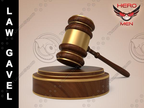 max law gavel