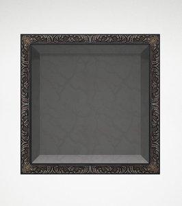 3d ancient frame
