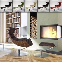 3d lobster chair furniture
