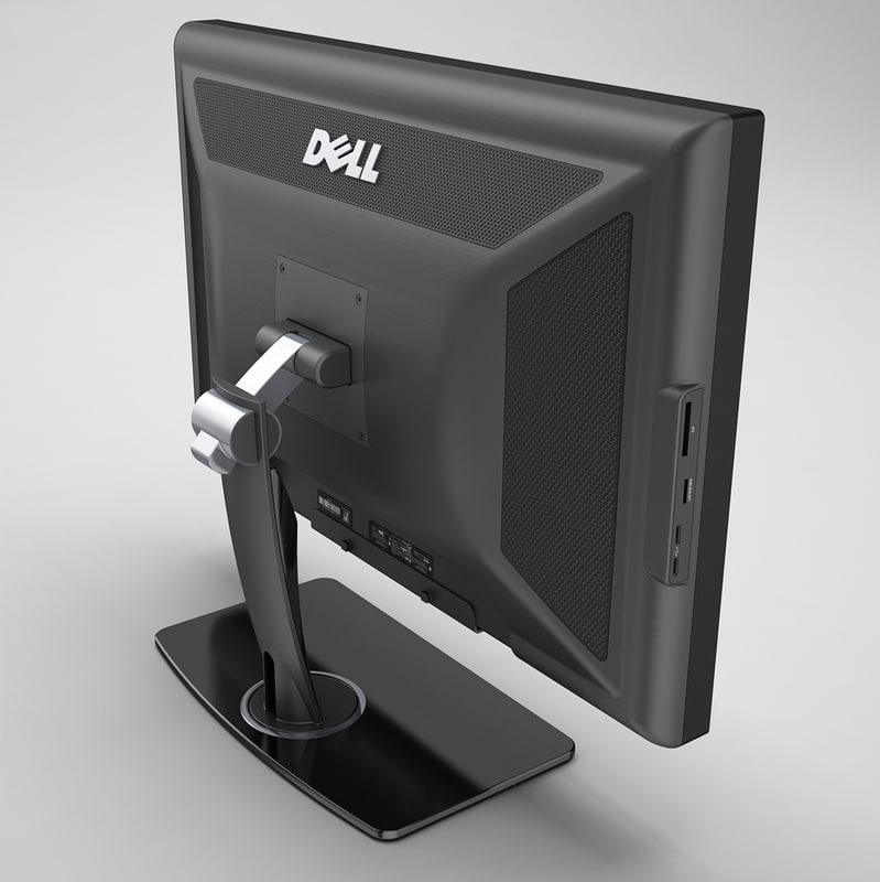 3ds max dell monitor
