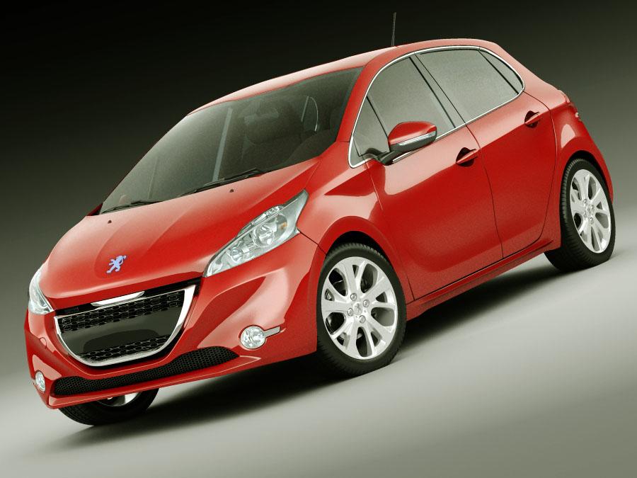 materials car 3d lwo