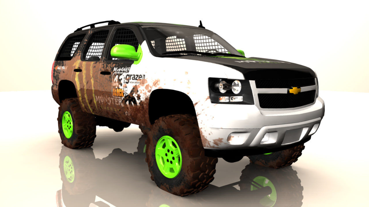 rally truck 3d ma