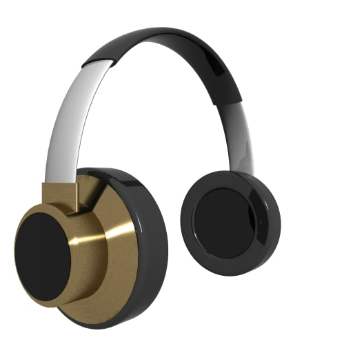 3d model headphones loader