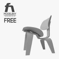 free max model eames lounge chair