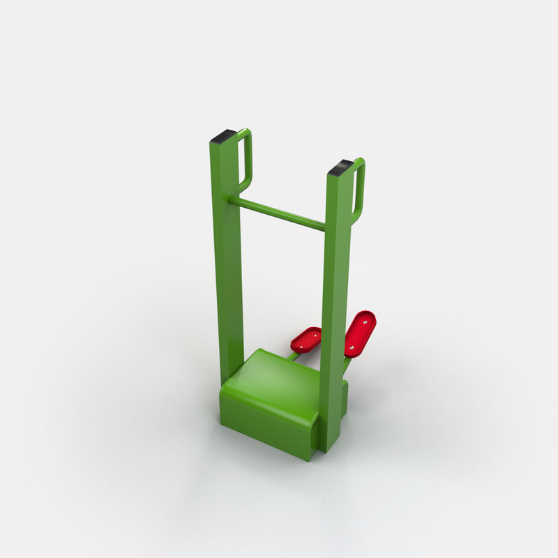 outdoor steper 3d model