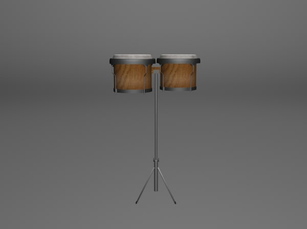 3ds max bongos instrument