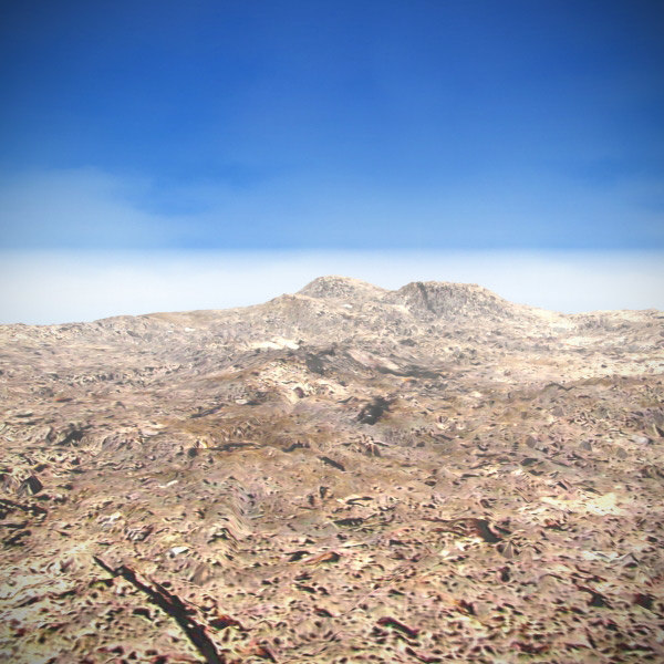terrain landscape 3d model