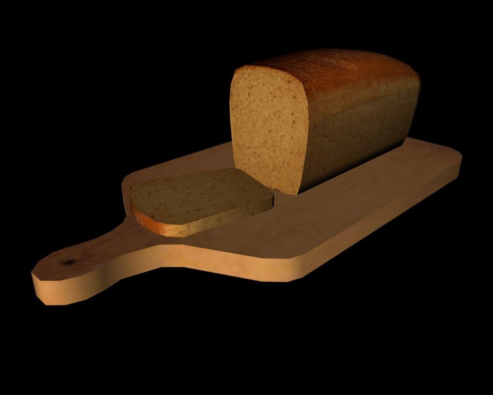 3ds max bread