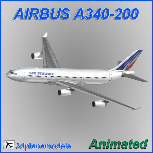 3ds airbus a340-200