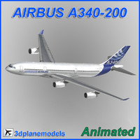 Airbus A340-200 Airbus House livery