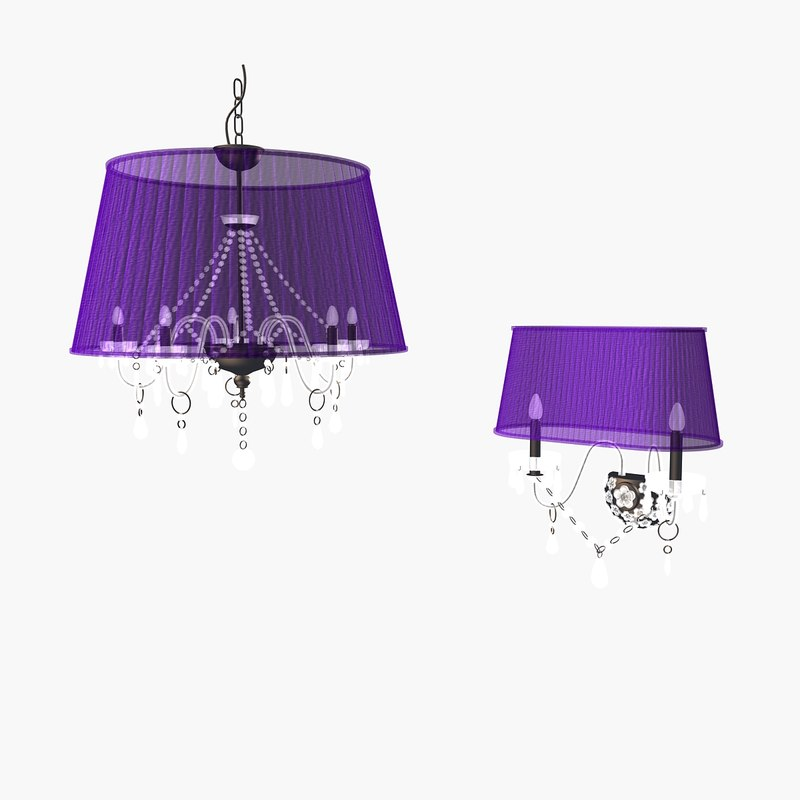 3d model alessio lamps
