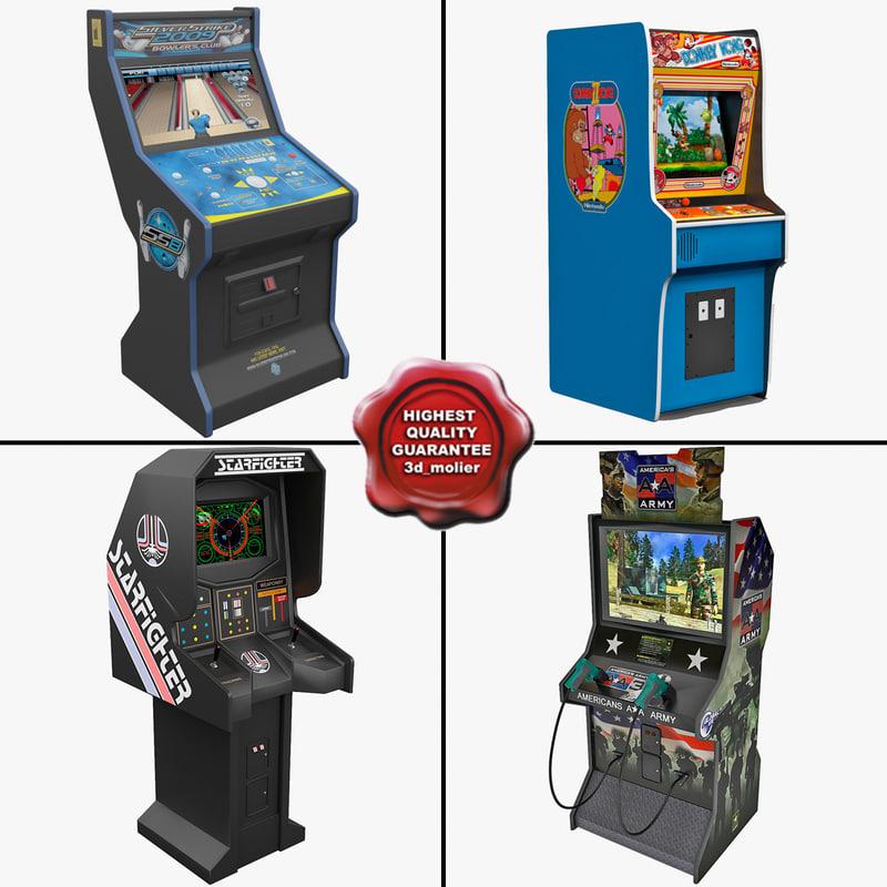 3d arcade games model