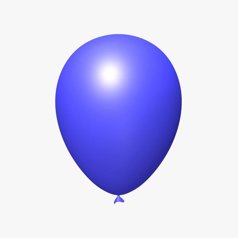 blue balloon max