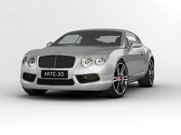 2013 bentley continental gt 3d max