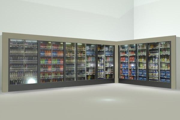 max beverage cooler display