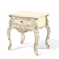 Carved Night Stand