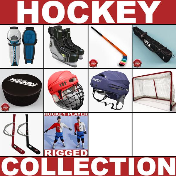 hockey v2 c4d