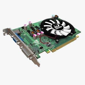 video gf-gt220 nvidia geforce 3d max