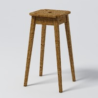 Restoration Hardware - OAK BARSTOOL