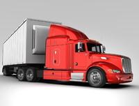 truck trailer 3d model