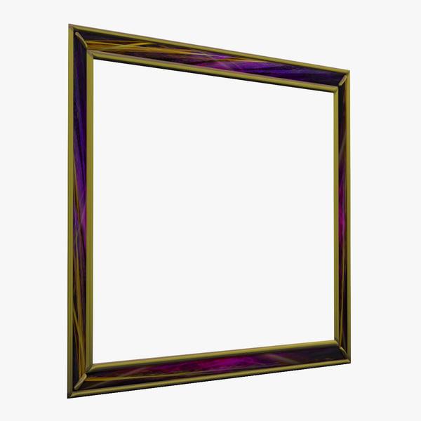 picture frame v8 3d 3ds