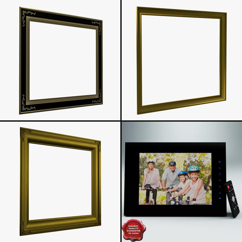 3dsmax picture frames v2