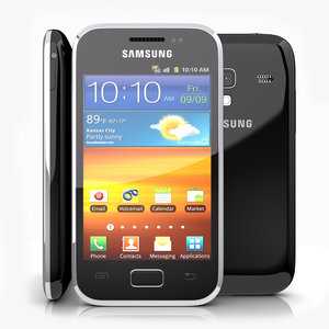 3d model samsung galaxy ace android